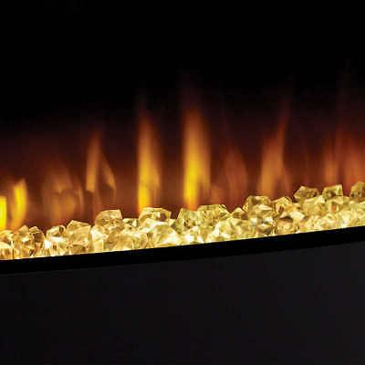 Cassie Mount Electric Fireplace, 7 Color Options