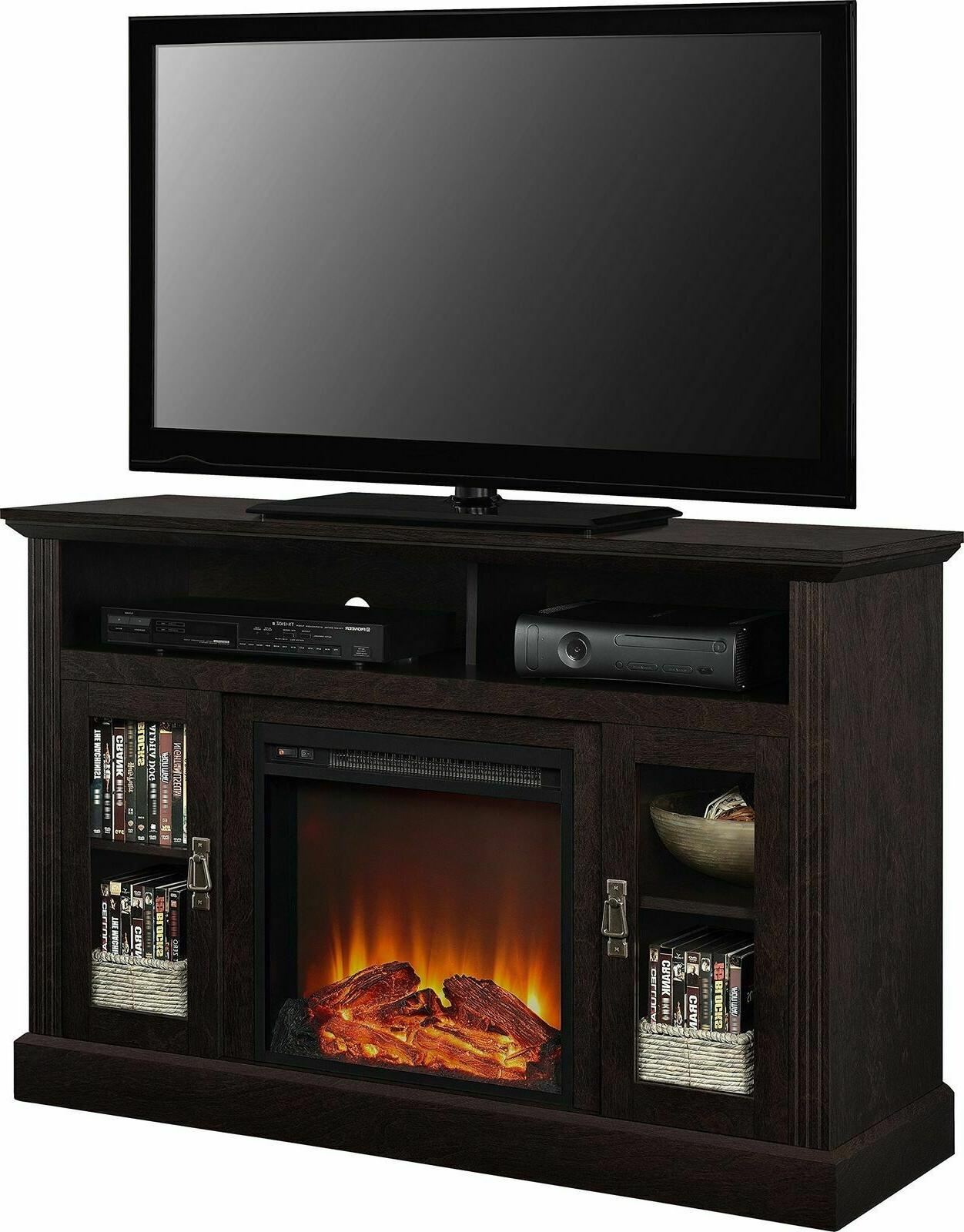 "Ameriwood Fireplace TV TVs to 50""Espresso"