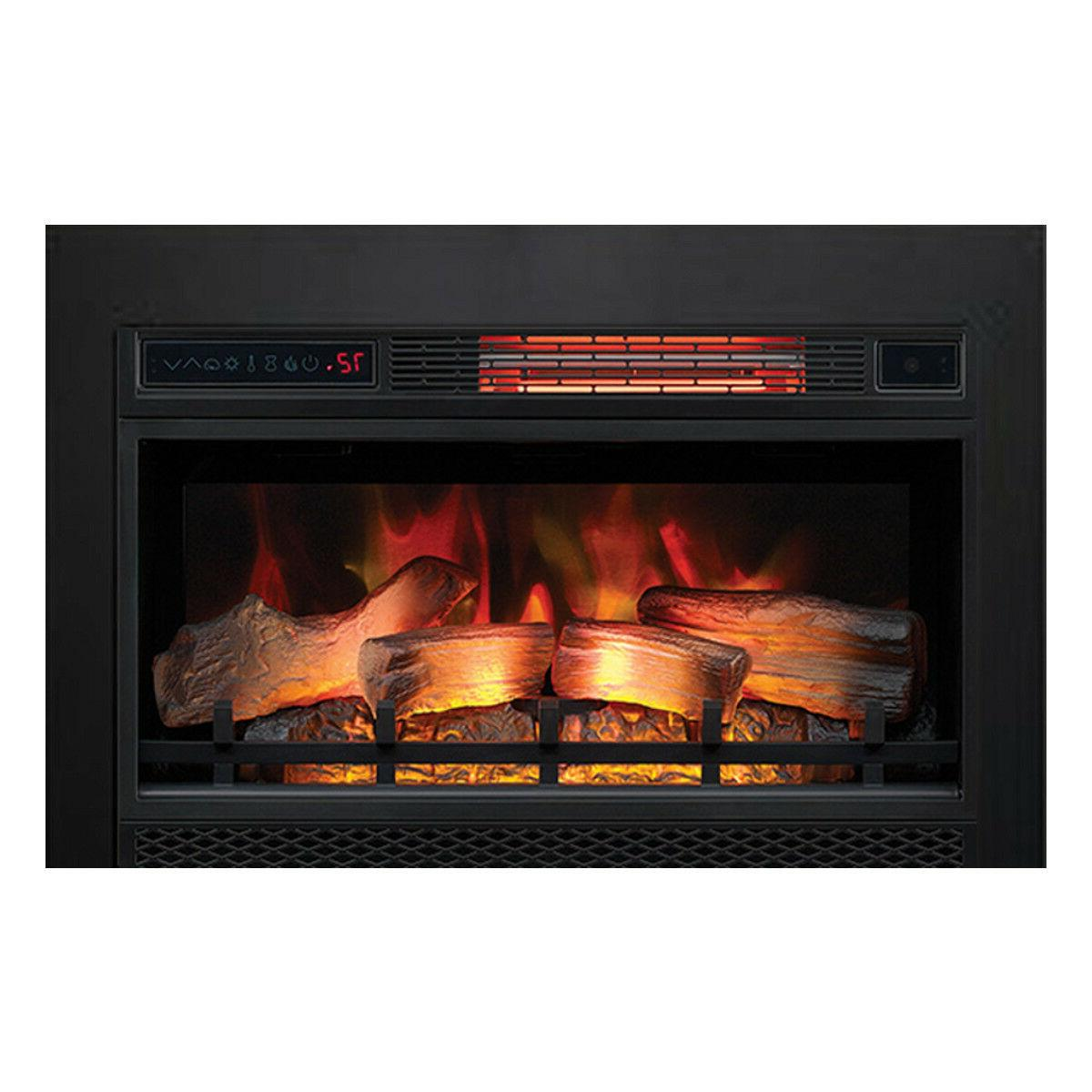 "Classic Flame 26"" 3D Electric Fireplace Insert 26II042FGL w/"