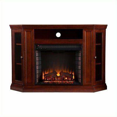 Bowery Convertible Fireplace Cherry