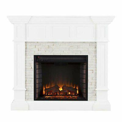 Bowery Electric Fireplace