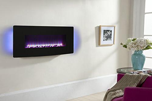 "Muskoka 42"" Wall Electric Glass"