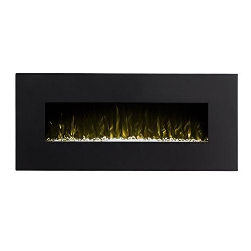 Regal Denali Black 60 Pebble, 3 Heater Electric Wall Than Wood Fireplaces, Logs, Fireplace Inserts, Fireplaces, Space