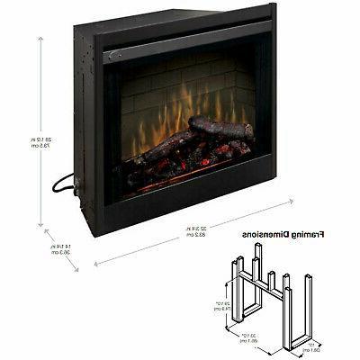 Dimplex Fireplace Insert 33-Inch