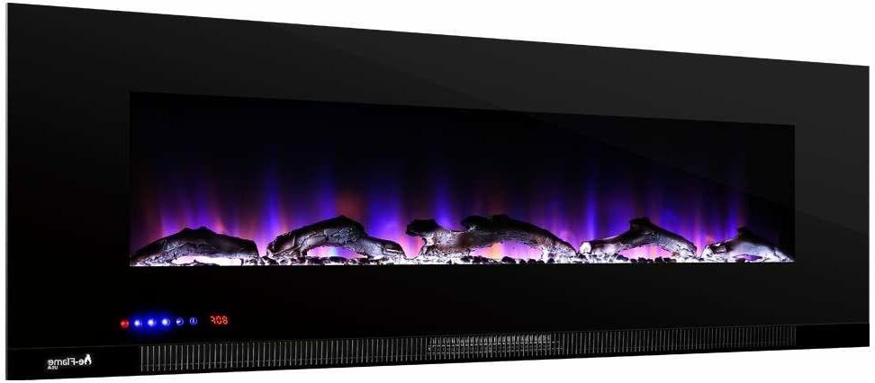 e-Flame Wall Mount LED Fireplace Stove