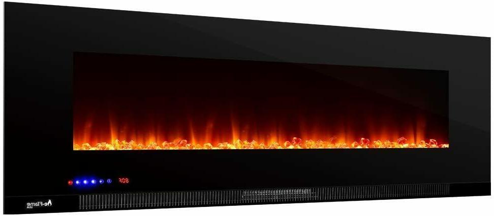 e-Flame USA Wall Mount Electric Fireplace Stove