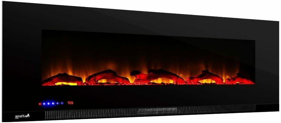 e-Flame USA Livingston Wall Fireplace Stove