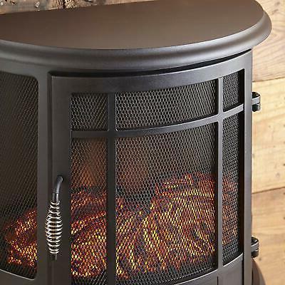 Electric Fireplace 3-D Effec