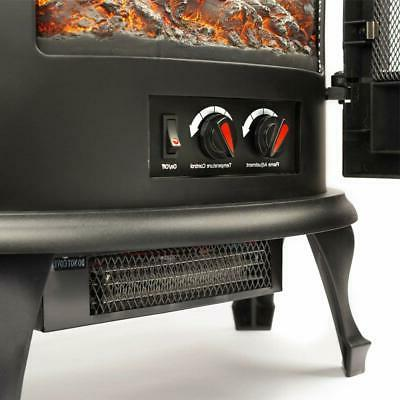 e-Flame Electric Stove - 3-D and Effec