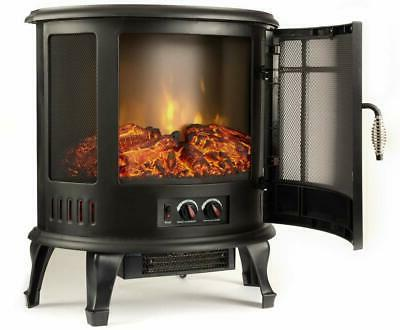e-Flame USA Regal Electric Stove 3-D Log and Effec