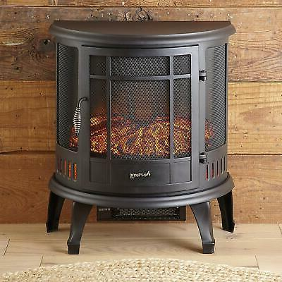 e-Flame Regal Electric Stove - 3-D Log and Effec