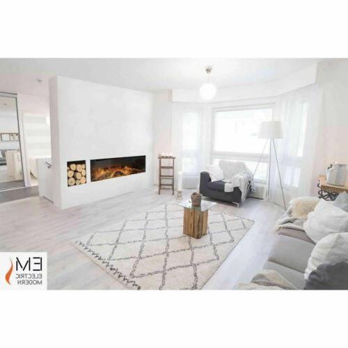 e40 single sided electric fireplace electric modern