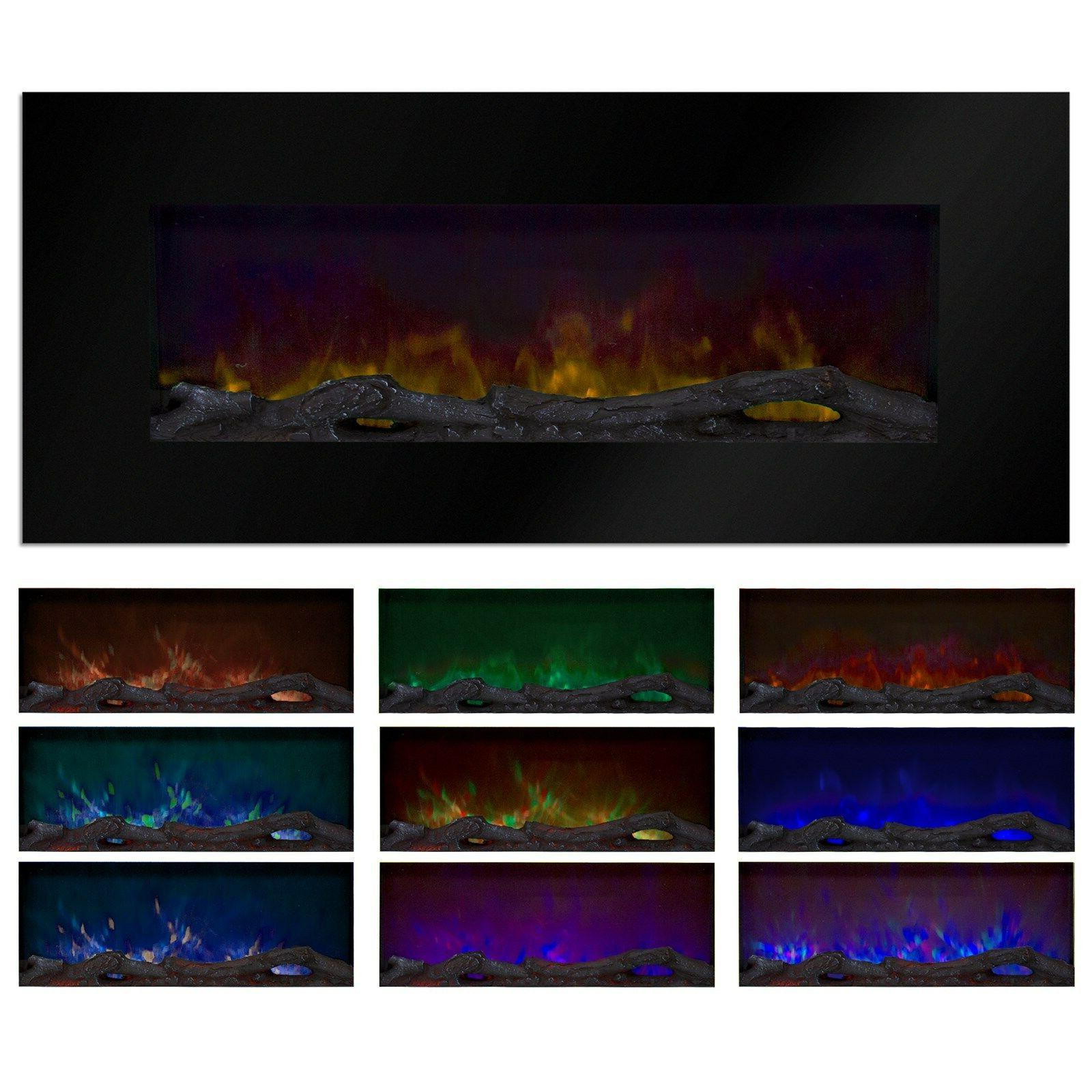 Electric Color Changing 50 x 21 Glass