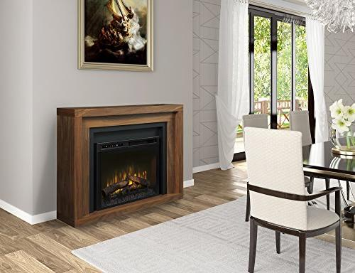 Dimplex - Electric Fireplace and Mantel Set - Anthony