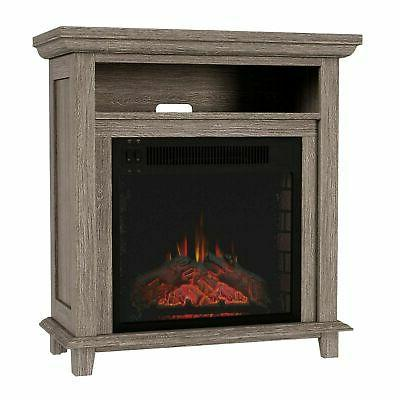 electric fireplace console tv stand or accent