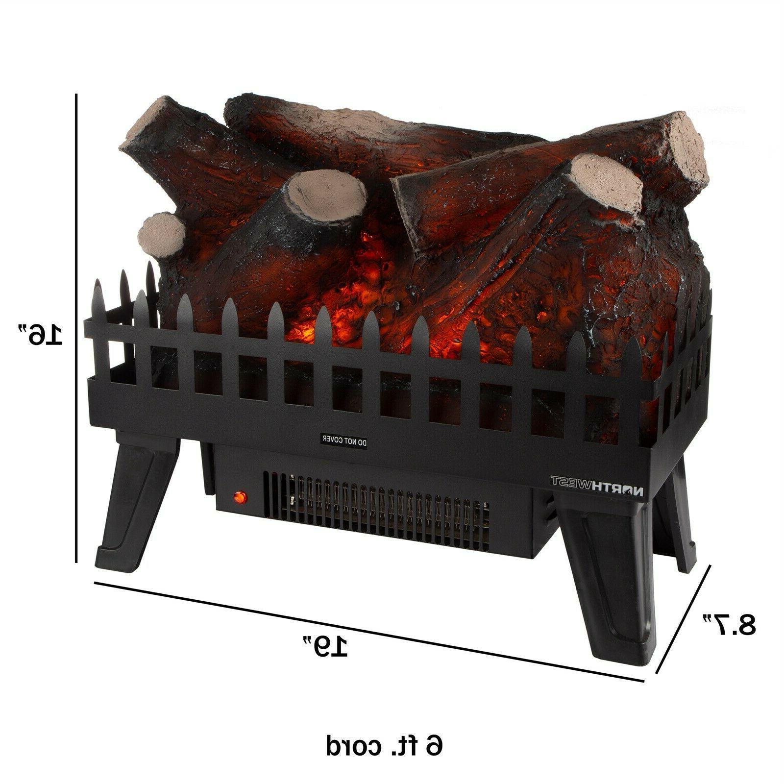 Electric Fake Insert Glowing Energy Heating