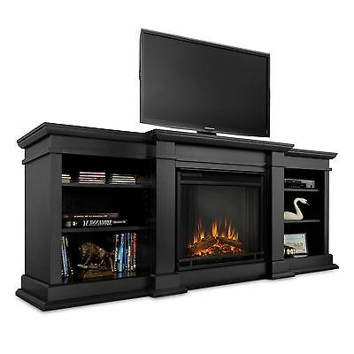 Electric Fireplace Flame Portable Black