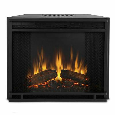 Electric Real Flame Entertainment Black