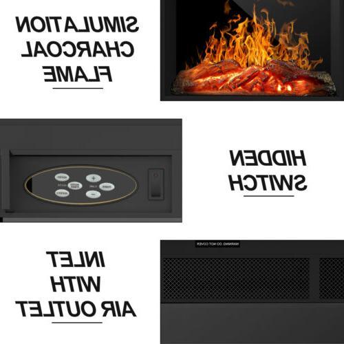 Electric LED w/ Remote Control Black
