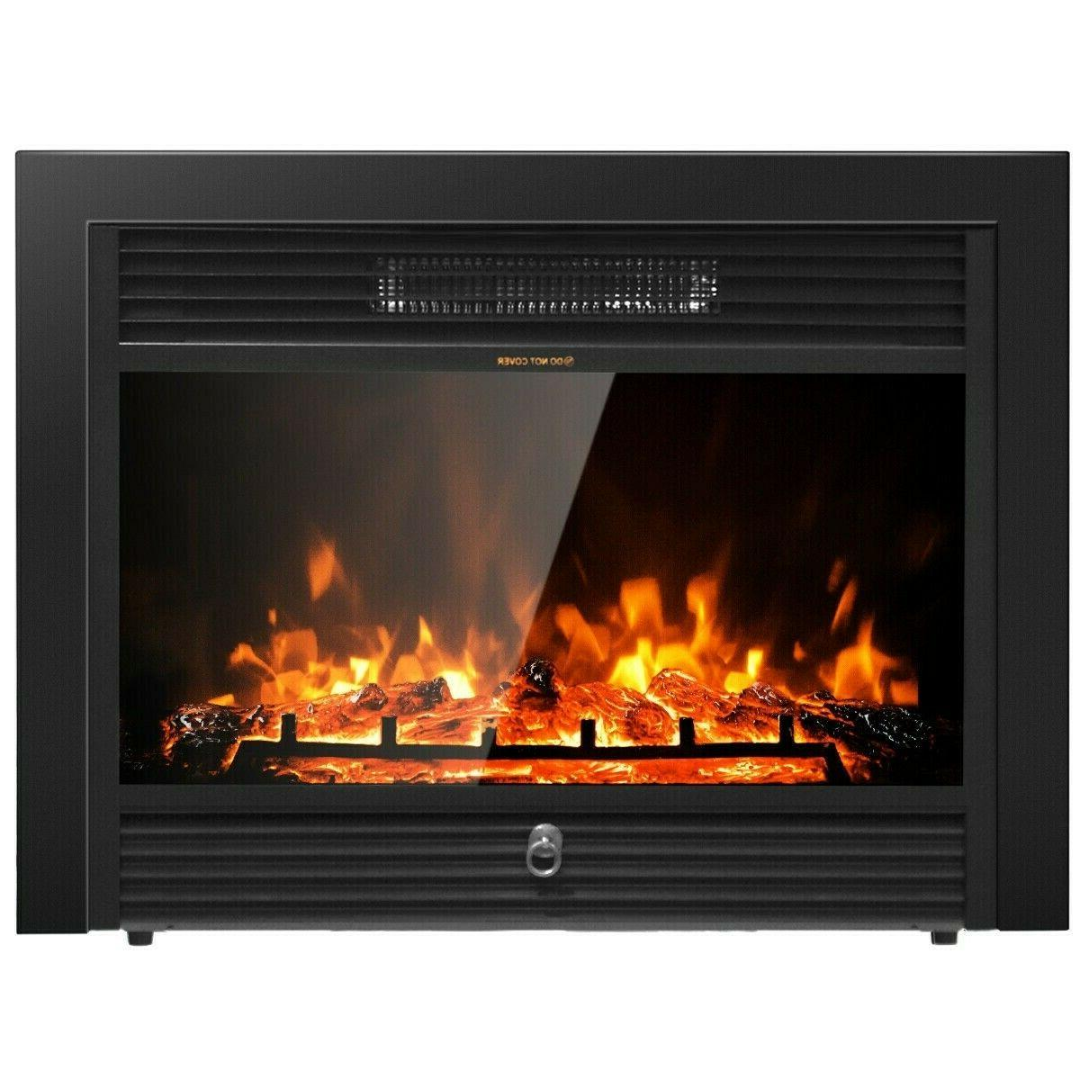 Electric Fireplace Recessed insert or Wall Mounted Standing