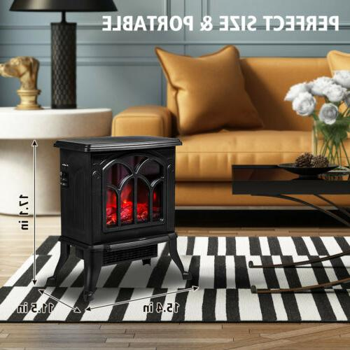 Electric Fireplace Stove Flame Safety