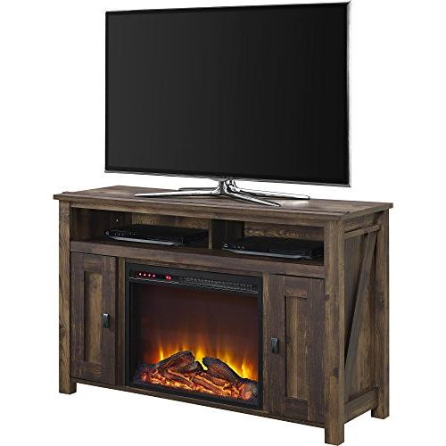 electric fireplace tv console entertainment unit stand