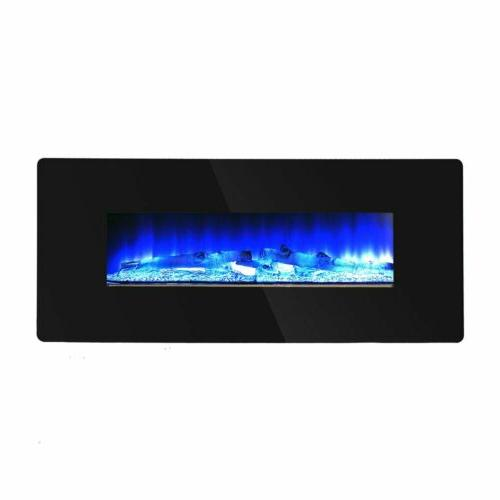 Fireplace Crystal W/ Remote