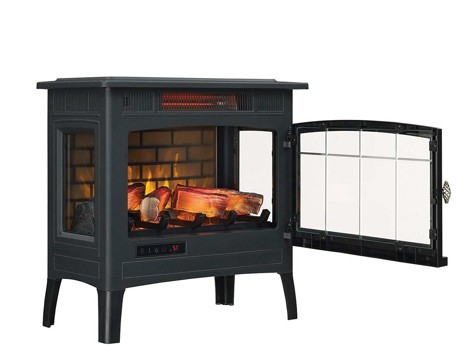 Electric Fireplace Fireplaces with Remote Control