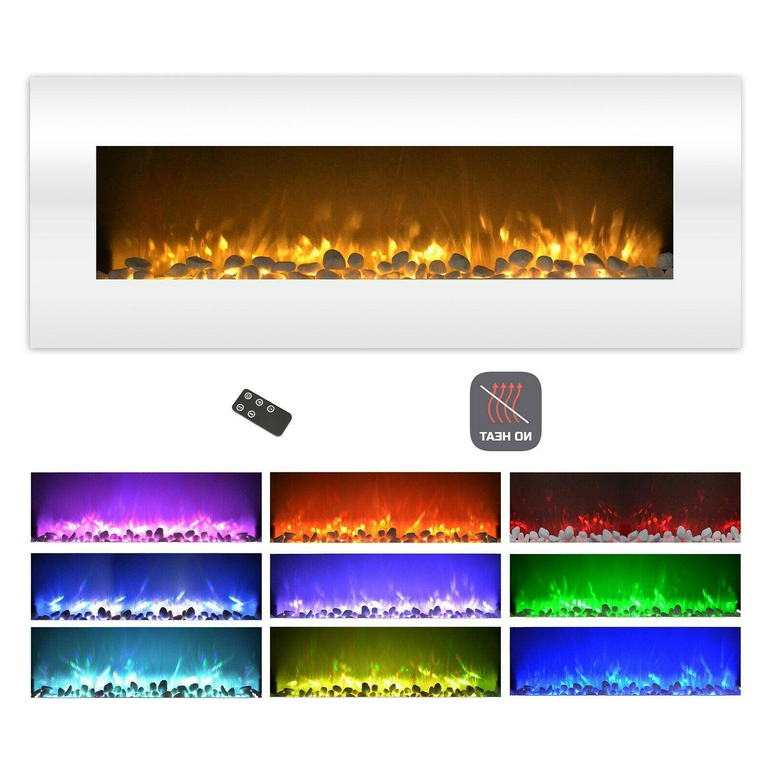Fireplace Color Wall Remote Inch