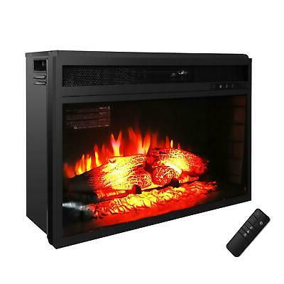 Embedded Electric Insert Log Flame with Remote Control