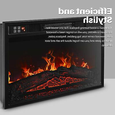 Embedded Electric Heater Flame Remote Home
