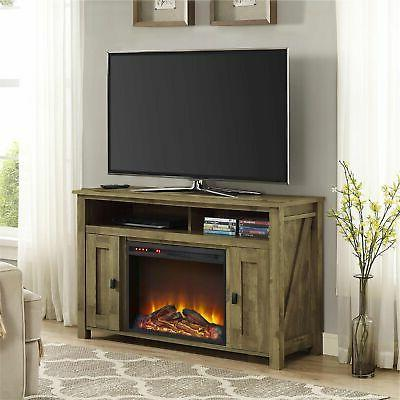 """Ameriwood Electric Fireplace TV for TVs 50"""""""