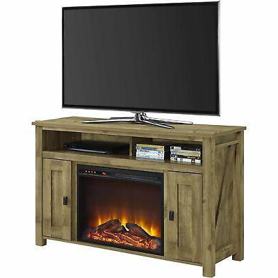 farmington electric fireplace tv console for tvs
