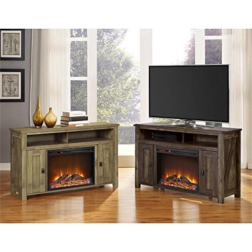 Ameriwood Electric TVs Rustic