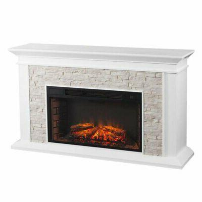 Bowery Faux Electric Fireplace