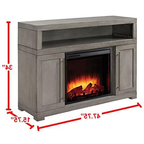 Muskoka 238-152-89 Mackenzie inch Fireplace in Light Weathered Finish