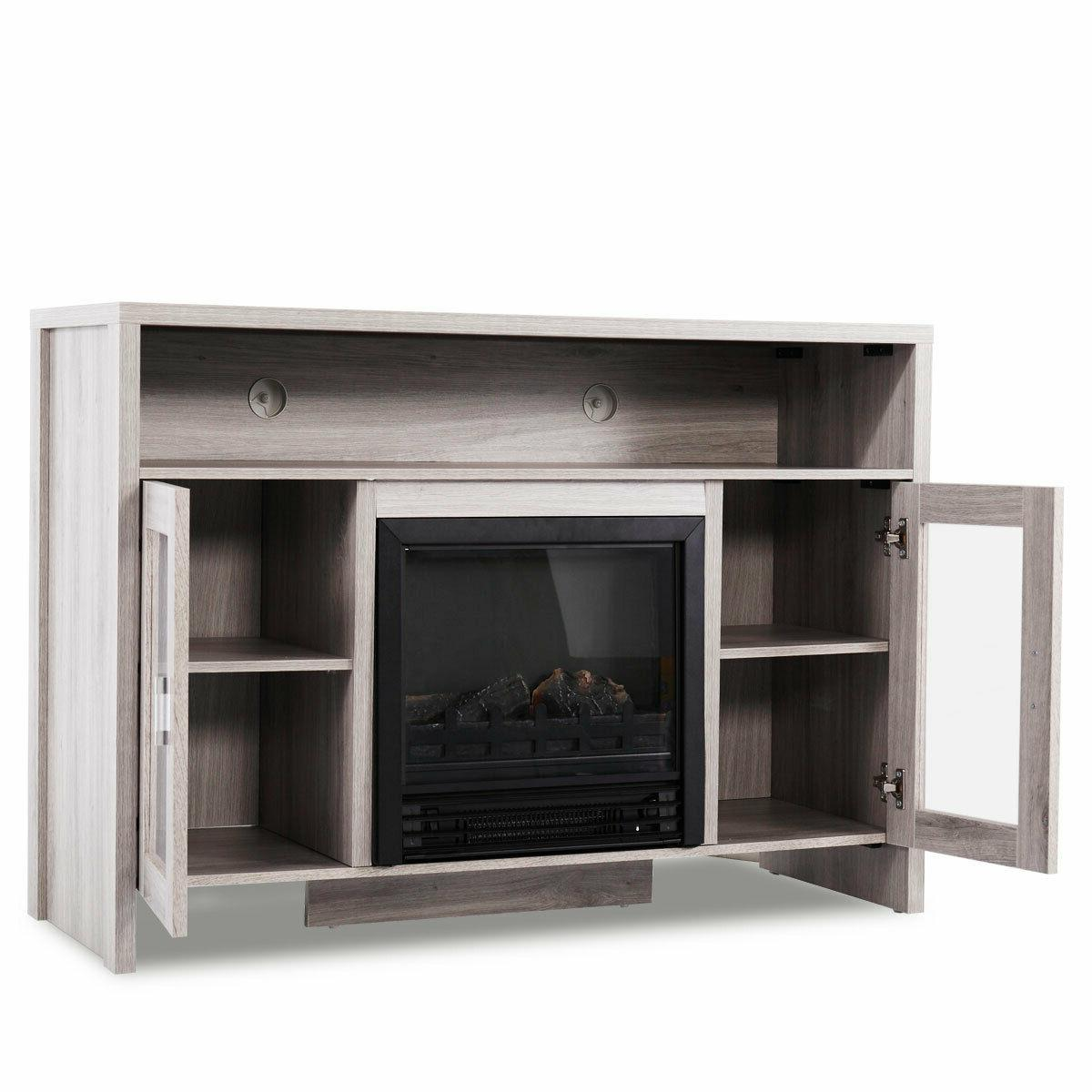 Fireplace TV Storage Heater for to 43""