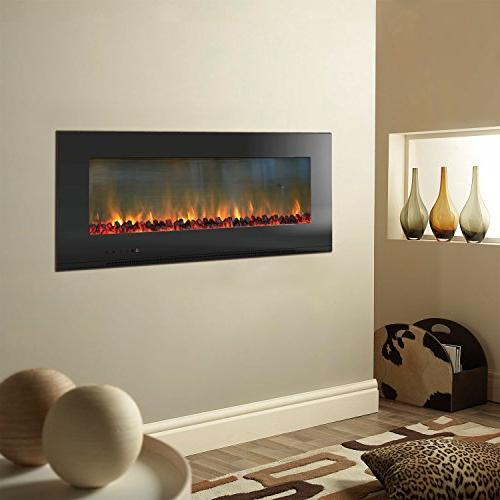 """Hanover Electric Fireplace, 56"""""""