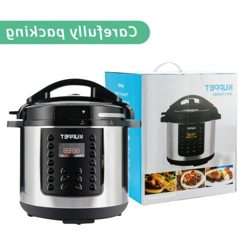 1000W 14-in-1 Cooker 6-Quart Multi-Functional