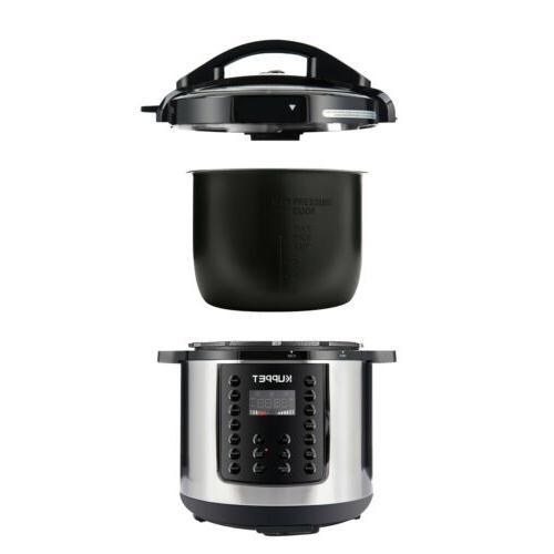 1000W 14-in-1 Electric Pressure Cooker 6-Quart Home WIFI