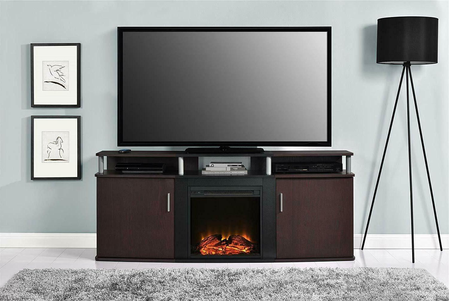 """Ameriwood Home TV Media Stand for 70"""" NEW"""