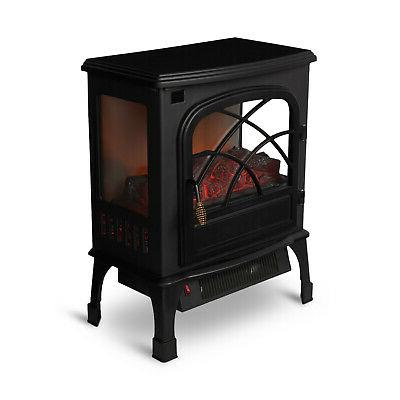 indoor electric 1500w stove fireplace infrared quartz