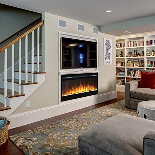 Regal Pebble Built in Ventless Heater Wall Mounted Better than Wood Gas Logs, Inserts, Gas