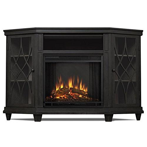 Real Fireplace TV Gray