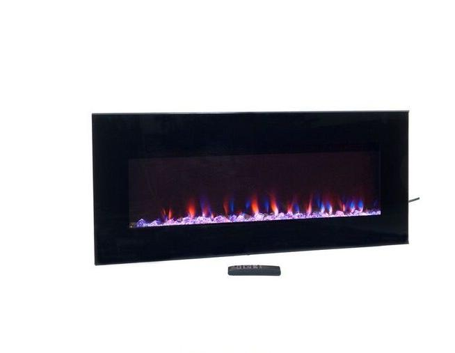 NW Modern Fireplace LED Glass Heater