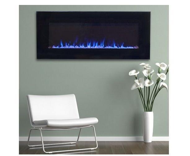 NW Black Glass Heater