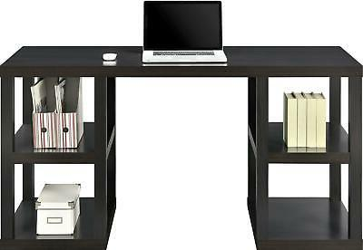 Parsons Electric TV Stand and Desk Bundle, Multiple Colors