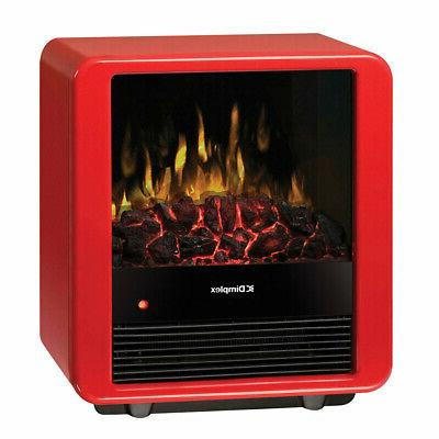 red mini cube electric stove