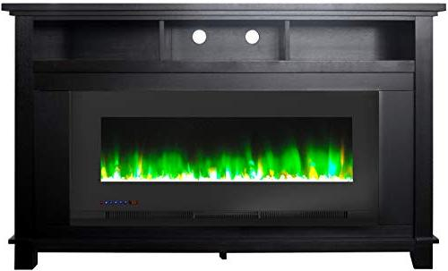 Cambridge in. Freestanding Heater TV in with 50 in. and Rock