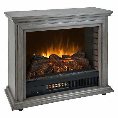 Pleasant Infrared Electric Fireplace